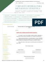 Modelos de Cartas en General Para Consejos Comunales en Venezuela_ Permiso Evento Musical