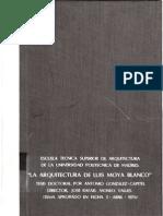 Arquitectura Luis Moya Blanco