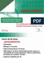 Caso Clinico 3 Insuficiencia Cardiaca Medicina Interna