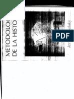 TOPOLSKY, Jerzy (1973). Metodología de La Historia. CAP 1-3.