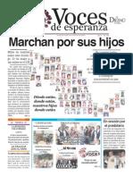 Voces de Esperanza 10 de mayo 2015