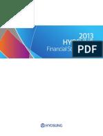 Hyosung Annual Report 2013 English