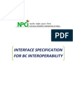 SOP BC Interoperability - Interface Specifications