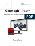 GeomagicDesign Whats New
