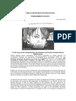 COMUNICADO_En alto riesgo la vida e integridad física de la Defensora de Derechos Humanos Nestora Salgado García