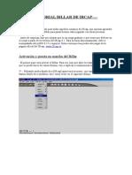Tutorial de Billar en IRCAP