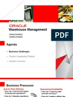 Oracle WMS R12 Intro