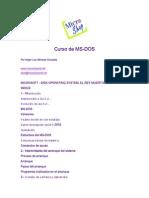 Curso Ms-dos Avanzado