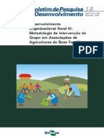 Desenvolvimento Organizacional Rural III Metodologia de Intervencao de Grupo Em Associacoes de Agricultores de Base Familiar