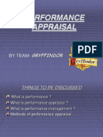 performance appraisal..............BBS
