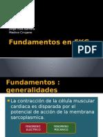 Fundamentos en EKG