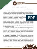 Carta de Princípios ABRAPSO/RN