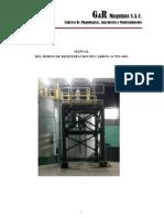 Manual Horno de Reactivador de carbon