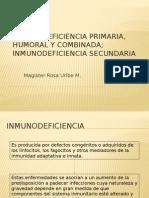 10 Inmunodeficiencia Primaria, Humoral y Combinada