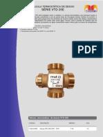 Válvula Termostática de Desvio Série VTD 25E - Dados técnicos.pdf
