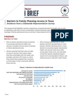 TxPEP Research Brief May 2015