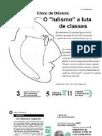 O Lulismo a Luta de Classes - Jornal Dos Economistas Janeiro 2007