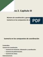 Tema 2. Capitulo III Isomeria en Los Compuestos de Coordinacion 2014