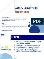 Food Safety Auditor Di Indonesia