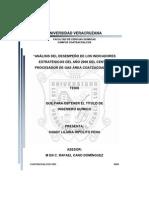 Analisis Kpi Estrategicos Año 2008procesadra de Gas