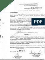 Decreto 2056-2008 Reglamento de Las Mesas de Entradas y Salidas de La Administracion Publica Provincial