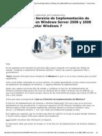 [Tip] Instalar Un Servicio de Implementación de Windows (WDS) en Windows Server 2008 y 2008 R2 Para Implementar Windows 7 - Checho's Blog