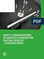 Safety Considerations of Wireless Charger for EV