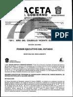 Gaceta de Gobierno Metepec