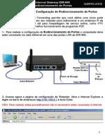 DIR-600 Procedimentos Para Configuracao de Port Forwarding