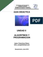 Guia Didactica de La Unidad II.