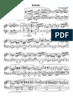 Chopin Ballade 1 Gm