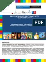 Seminario Permanente en Fácil Lectura y Educación Intercultural. Versión 2015.