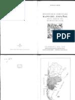 (1960) Diccionario Mapuche-Español
