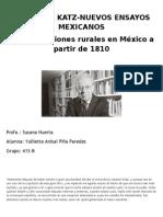 Capitulo II Revoluciones en México