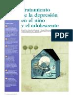 tratamiento de la  depresion en el niño