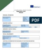 Application Form Poland