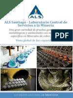 ALS Santiago Laboratorio Central de Servicios a La Minera Vista Global de Las Capacidades