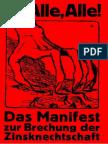 Das Manifest Zur Brechung Der Zinsknechtschaft Des Geldes - Feder, Gottfried - (1919)