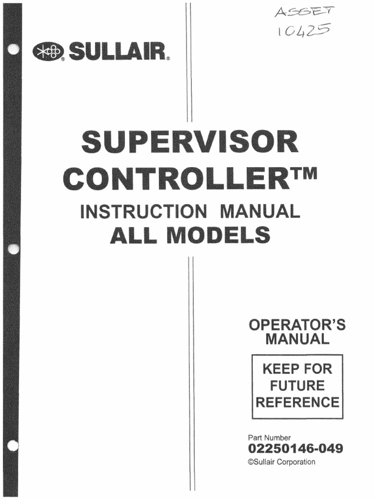 sullair supervisor controller manual 02250146 049 fuse rh scribd com sullair ls12-50h manual