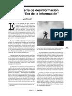 Pineda -La Guerra de Desinformacion en La Era de La Informacion-OSAL Enero 2002 Pg35-40