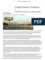 _ Frontiers of Design Science_ Evidence-based Design