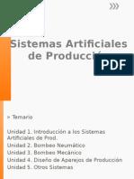 Sistemas Artificiales de Produccion
