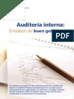 Auditoria Interna, Eslabon Para El Buen Gobierno