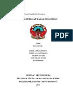 Perilaku Dalam Organisasi Sistem Pengendalian Klpk-2