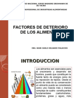 Clase Factores de Deterioro de Alimentos-gcdp