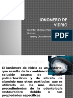 Ionomero de Vidrio - Biomateriales