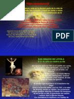 San Ignacio de Loyola, San Juan Maria Vianney, San Martin de Porres, Santa Rosa de Lima y Santa Teresa de Los Andes