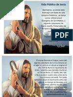 Vida Publica de Jesús segun San Mateo