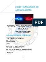 Manual Police Lights