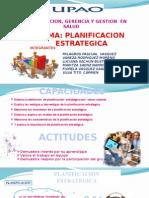 PLANIFICACION ESTRATEGICA ADMINISTRACION
